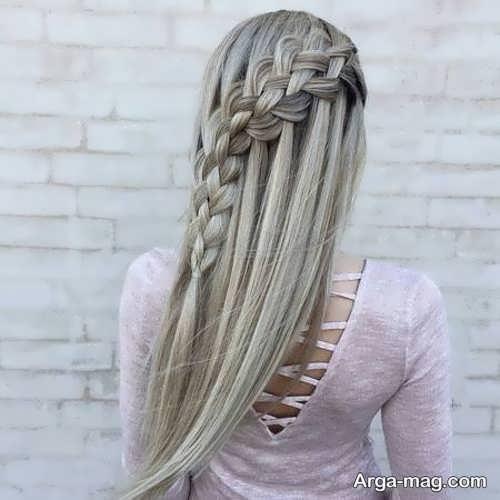 آموزش بافت موی بلند جذاب