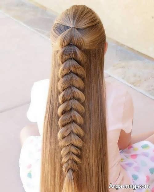 نحوه بافت موی بلند زیبا