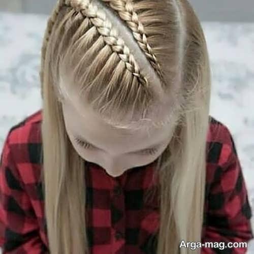 تصاویر بافت موی بلند