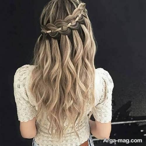 مدل بافت موی بلند