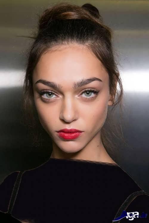 مدل میکاپ شیک و متفاوت دخترانه