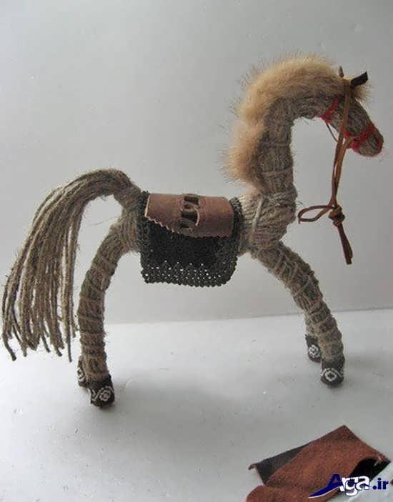 مانتو با پارچه کنفی آموزش ساخت عروسک با گونی نخی و   کنف راحت و   بسیـار زیبا mimplus.ir
