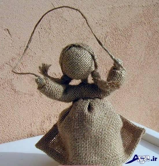 ساخت عروسک کنفی دختر