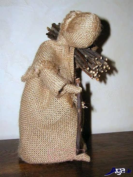 ساخت عروسک با گونی