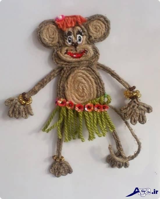 ساخت عروسک برای کودکان با گونی