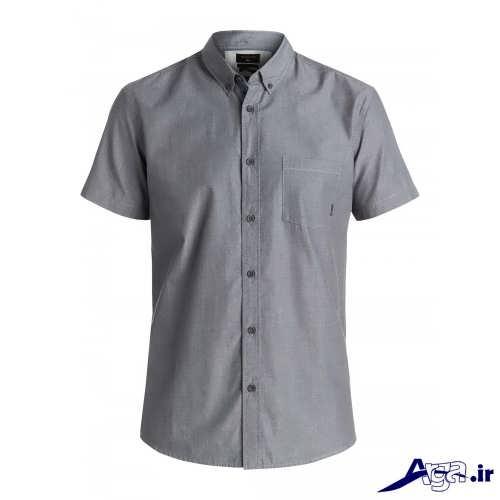 مدل پیراهن خاکستری مردانه