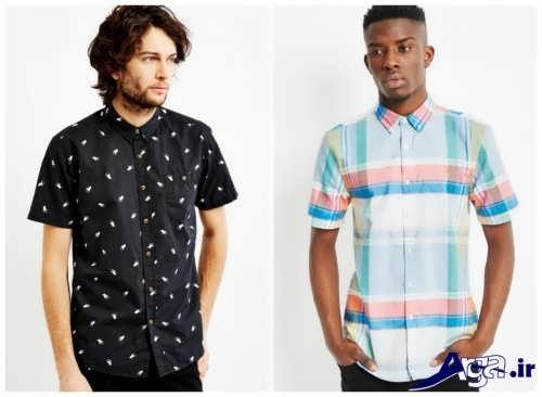 مدل پیراهن مردانه طرح دار