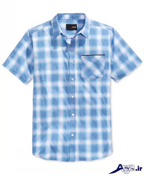 پیراهن چهار خانه مردانه