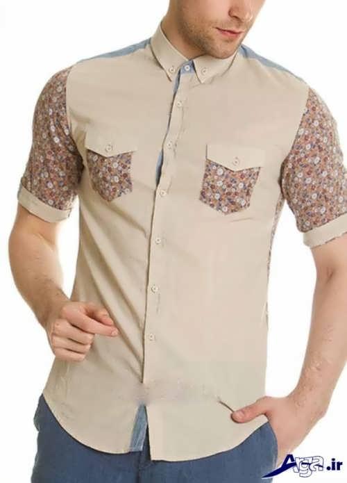 مدل پیراهن مردانه با طرح شیک و زیبا