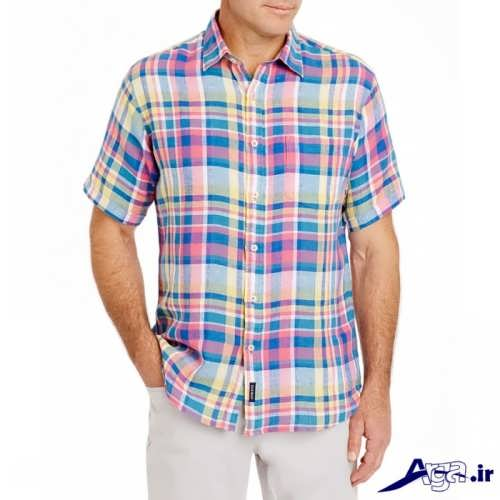 مدل پیراهن زیبا و جدید مردانه