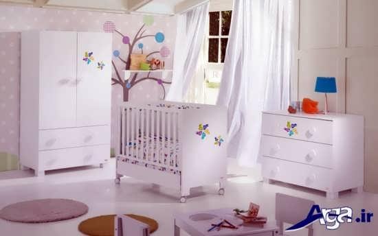 مدل کمد و تخت نوزاد