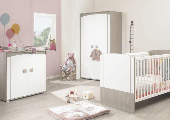 مدل تخت و کمد نوزاد با طرح های فانتزی و شیک