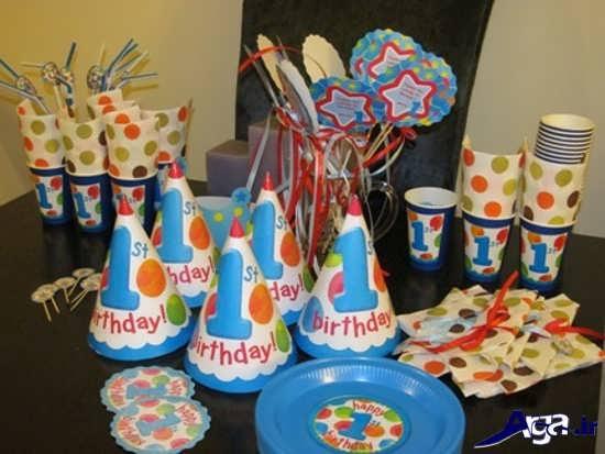 تزیین جشن تولد یک سالگی پسرانه
