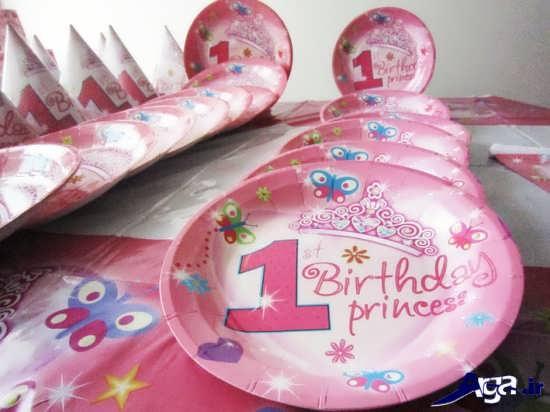 تم تولد دخترانه یک سالگی