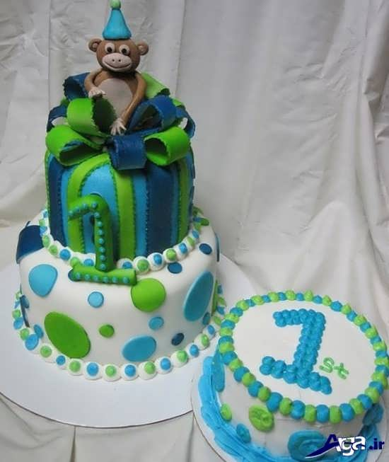 تزیین کیک با عدد یک