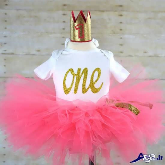 تزیین لباس کودک برای جشن تولد یک سالگی