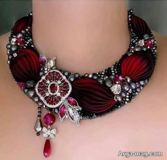 شفق دوزی جذاب جواهر