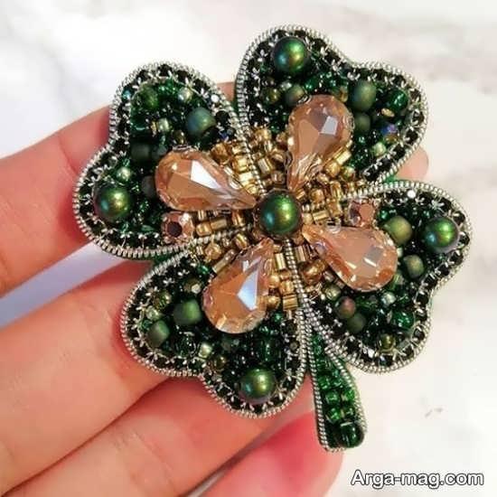 مدل جالب شفق دوزی جواهر