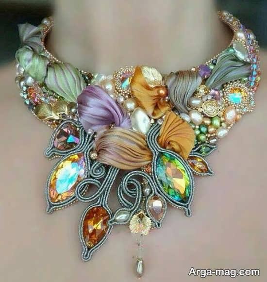 مدل لاکچری شفق دوزی جواهر