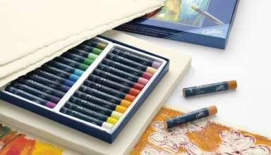 آموزش نقاشی با پاستل