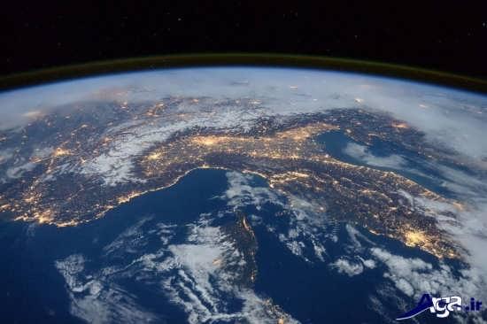 تصاویر زمین از ایستگاه فضایی