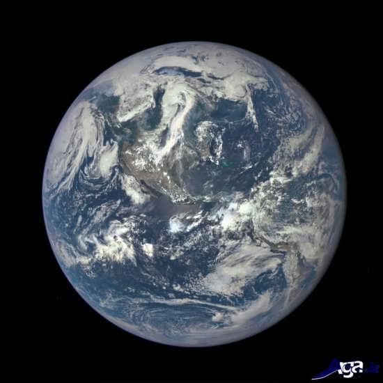 تصاویر دیدنی زمین از فضا