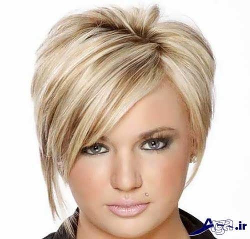 مدل موی زیبا و شیک آناناسی زنانه