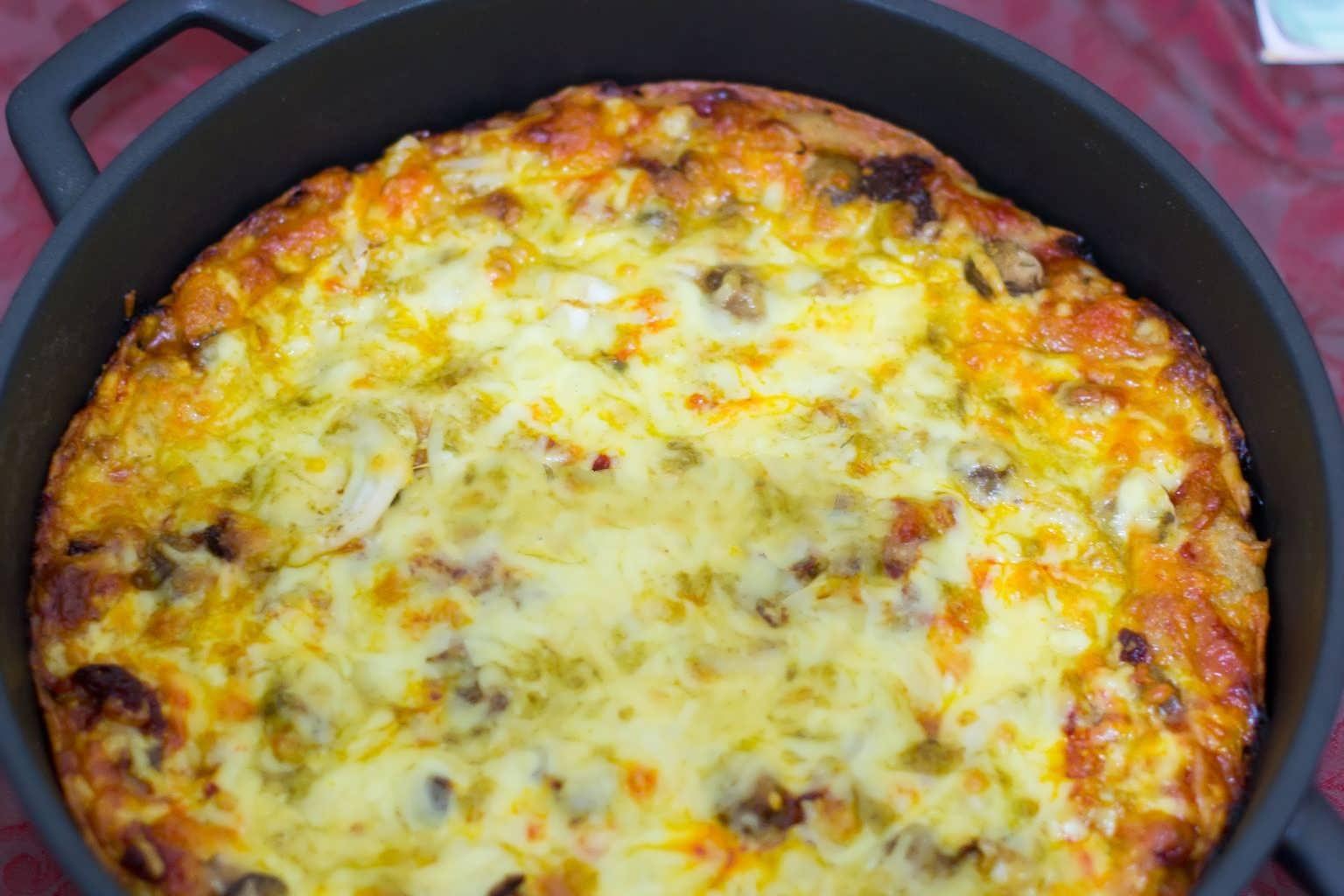 اموزش پیتزا فست فود
