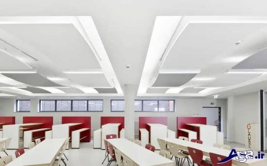 مدل کناف سقف برای ساختمان های اداری