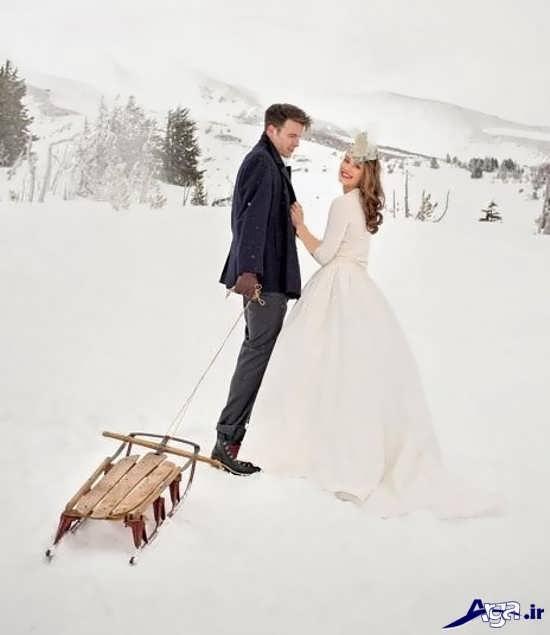 ژست عروس و داماد برای عکس های دونفره