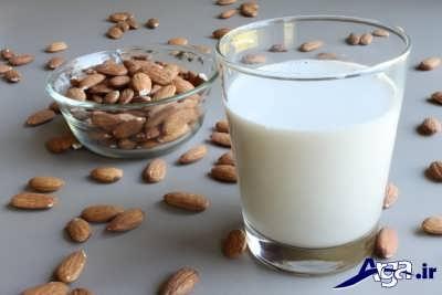 دستور تهیه شیر بادام و فویاد بی نظیر آن