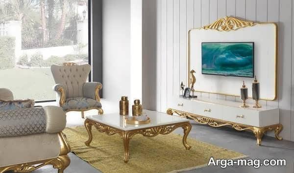 مدل شیک میز تی وی سلطنتی
