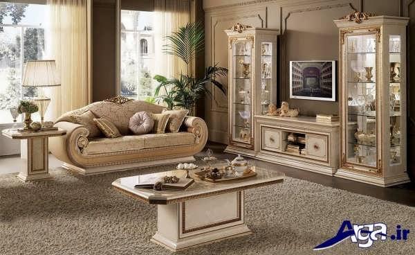 مدل میز تلویزیون سلطنتی شیک