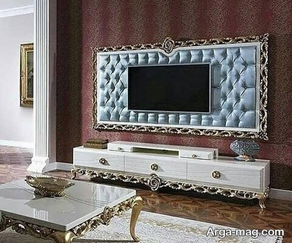 شیک ترین مدل میز تی وی سلطنتی