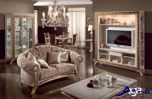 مدل شیک و زیبا میز تلویزیون