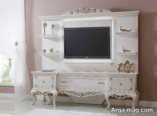 مدل جذاب میز تی وی سلطنتی