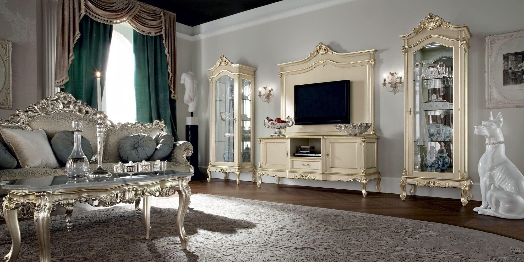 مدل میز تلویزیون سلطنتی شیک و زیبا با طرح های جدید