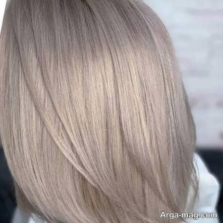 رنگ موهای صدفی عالی ترکیبی