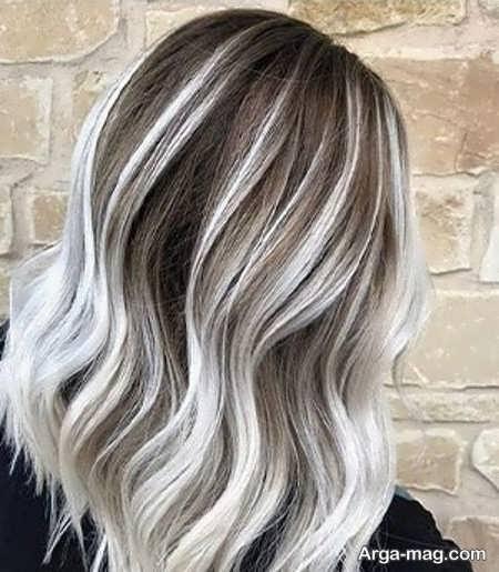 جذاب ترین رنگ موی صدفی