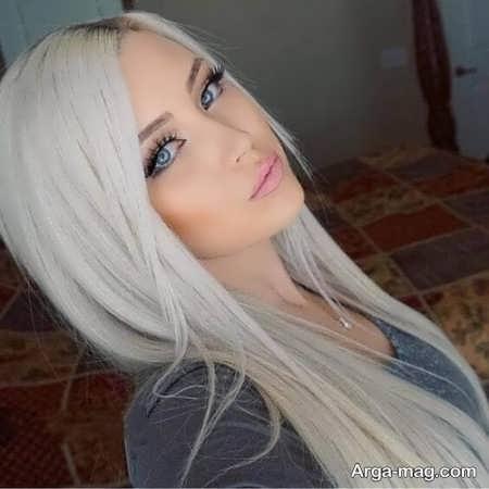 رنگ مو ترکیبی صدفی دیدنی