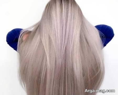 رنگ مو ترکیبی صدفی بی نظیر