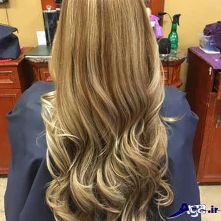 رنگ موی صدفی قهوه ای