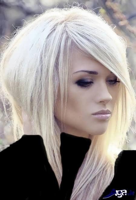 رنگ موی روشن صدفی