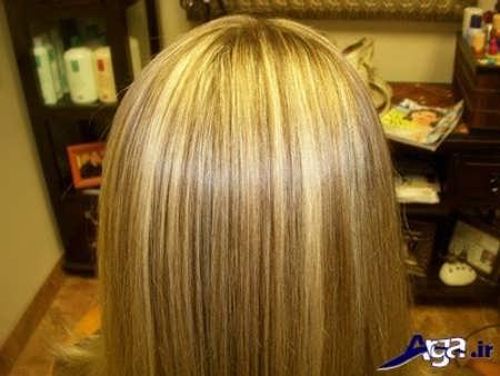رنگ مو صدفی