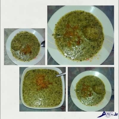 طرز تهیه کوفته سبزی شیراز
