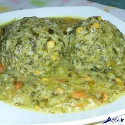 طرز تهیه کوفته شیرازی