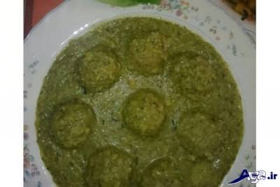کوفته سبزی شیرازی