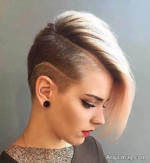 مدل مو خاص دخترانه کوتاه