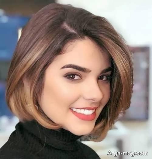 مدل جذاب مو دخترانه کوتاه