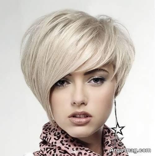 مدل جدید مو دخترانه کوتاه